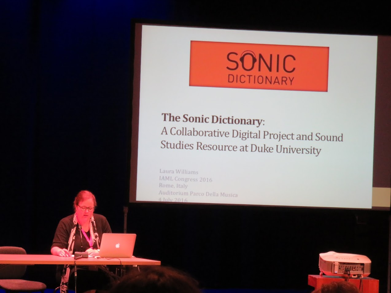 Sonic Dictionary, photo by Marianna Zsoldos