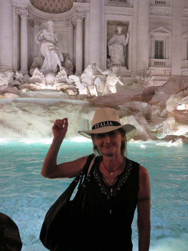 Fontana di Trevi, photo by Marianna Zsoldos