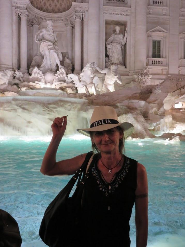 Fontana di Trevi, photo by Marianna Zsoldos