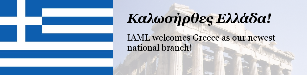 IAML welcomes Greece