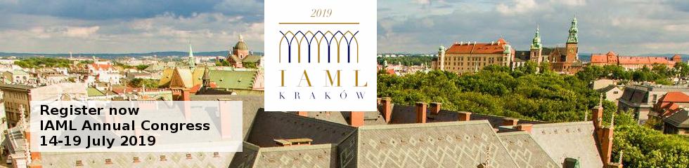 Register for IAML 2019