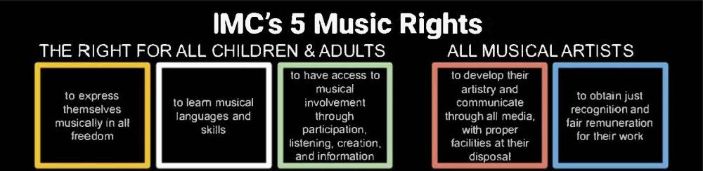 International Music Council Five Music Rights