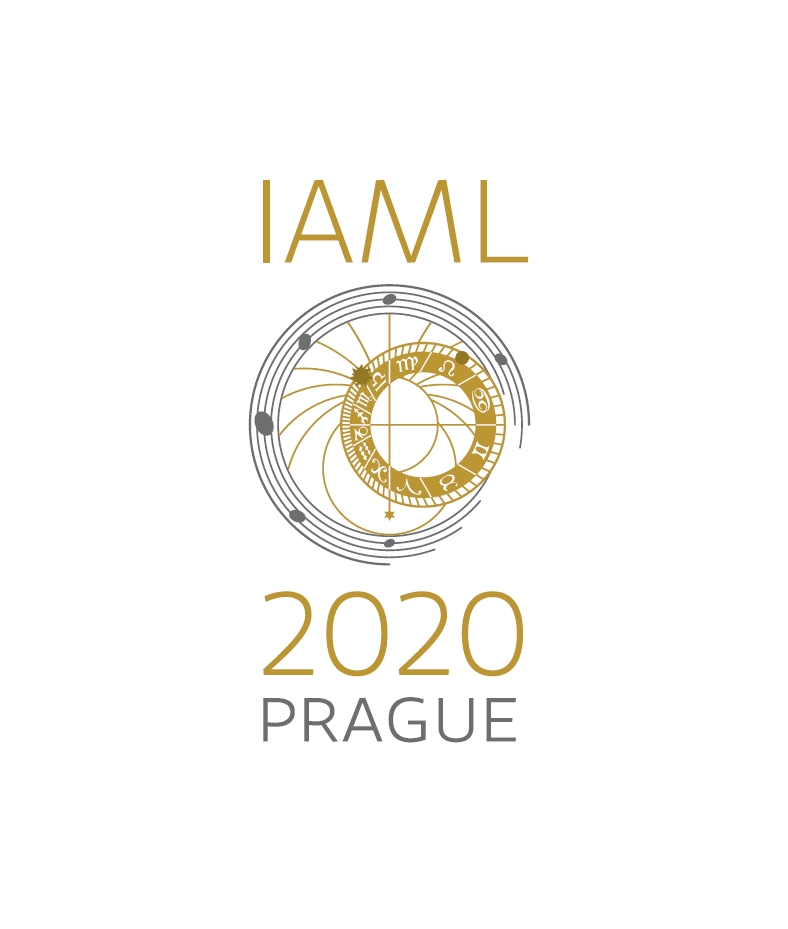 IAML Prague 2020 Congress logo
