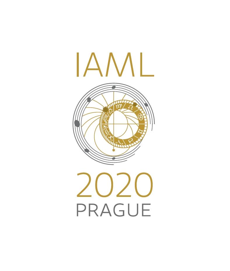 IAML Prague 2020 Congress logo