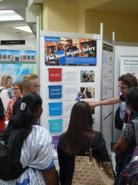 IFLA Poster session.