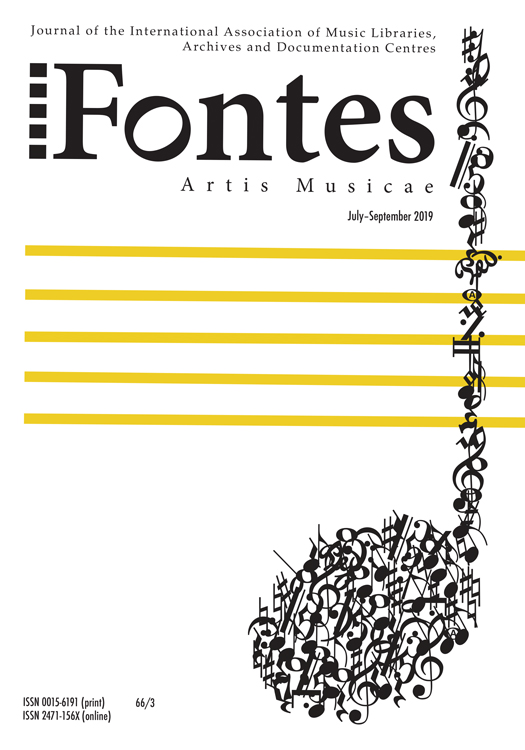 The cover to the July-September issue of Fontes