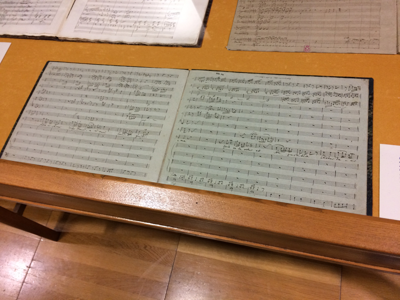 A music manuscript in Kraków