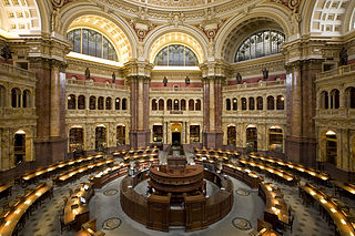 LOC Main Reading Room by Highsmith