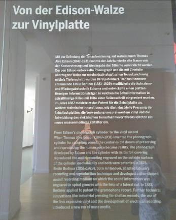 Geschichte der Tonträger