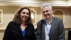 Beatriz Magalhaes-Castro President of IAML Brazil and Stanisław Hrabia IAML President-Elect