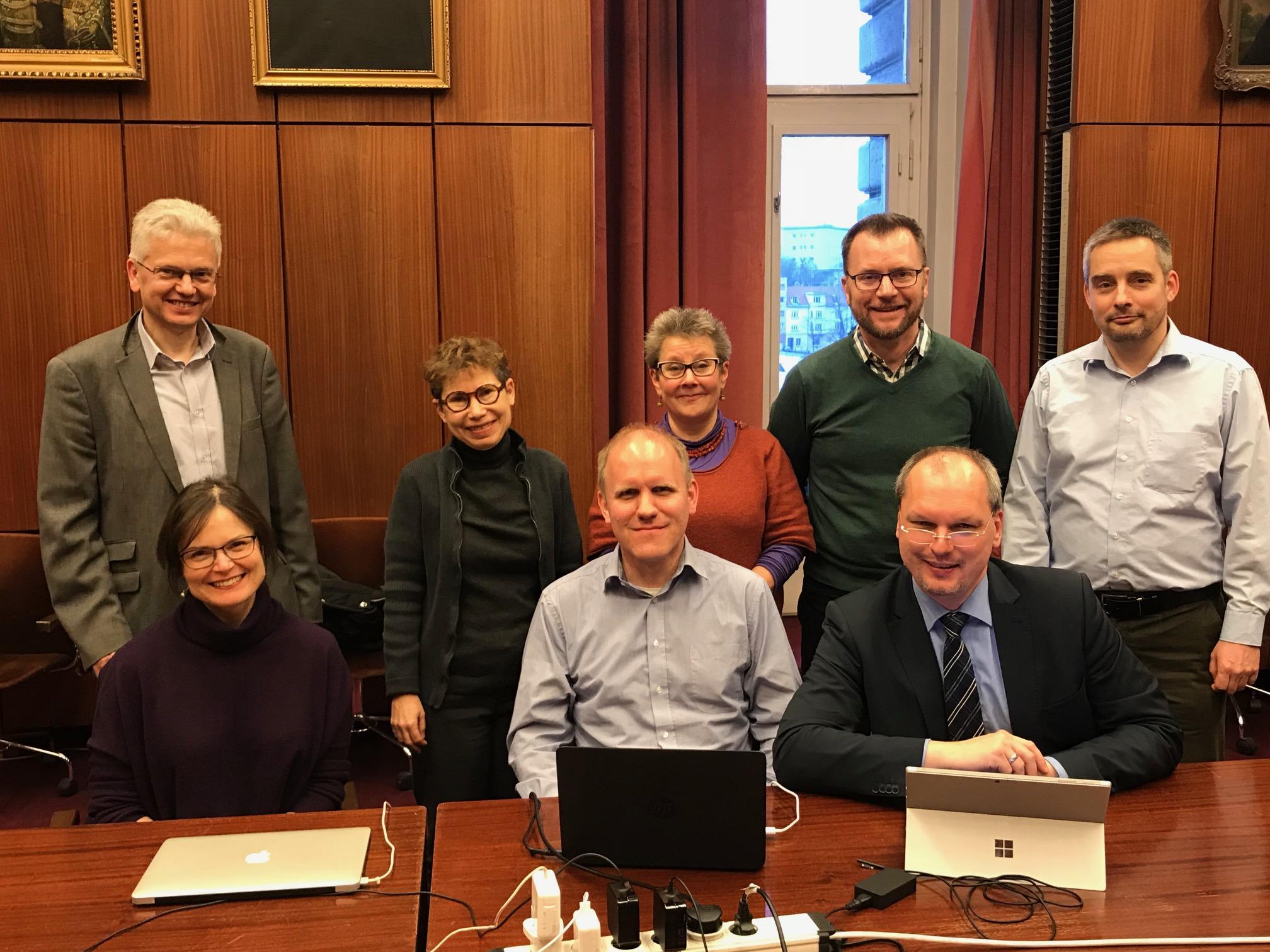 IAML Board in Budapest 2018