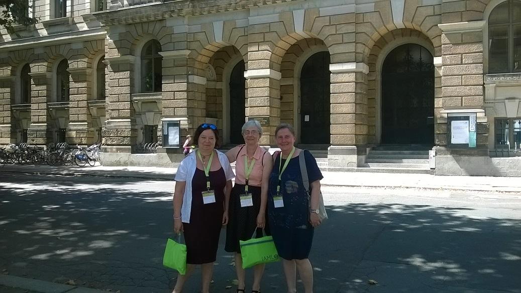 Csanda Mária, Gulyásné Somogyi Klára, Benyovszky Mária aus Ungarn