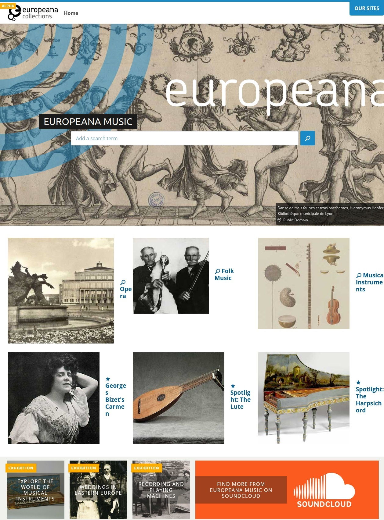 Europeana Sounds channel