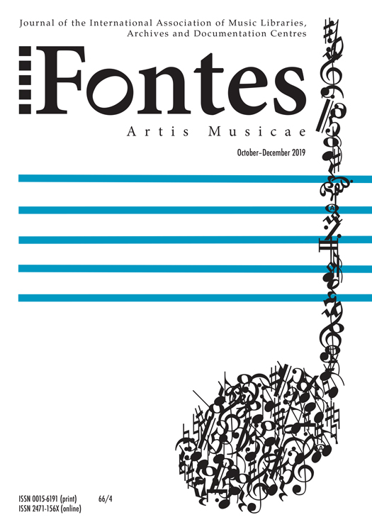 Image of the October-December 2019 issue of Fontes