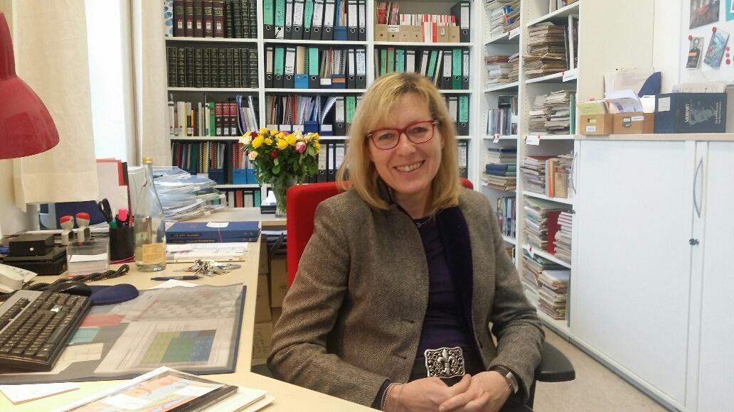 Head Librarian, Susanne Frintrop