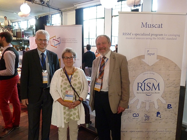 IAML and RISM at the IMC World Forum