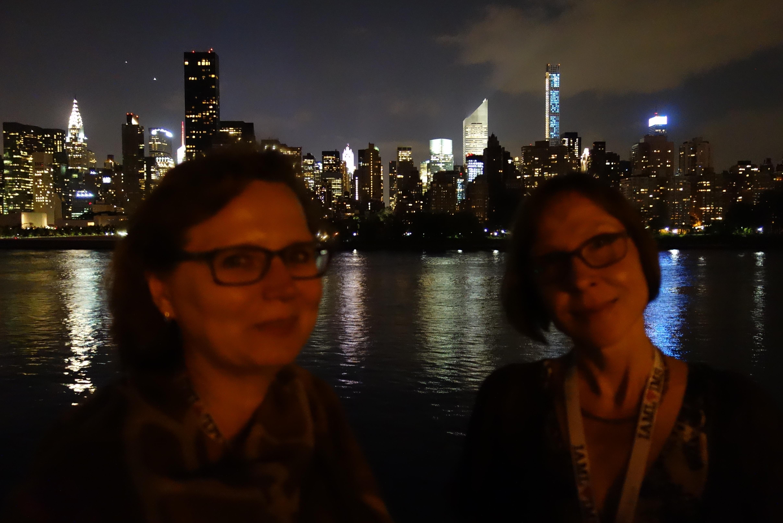 Katre ja Heidi NYC öös