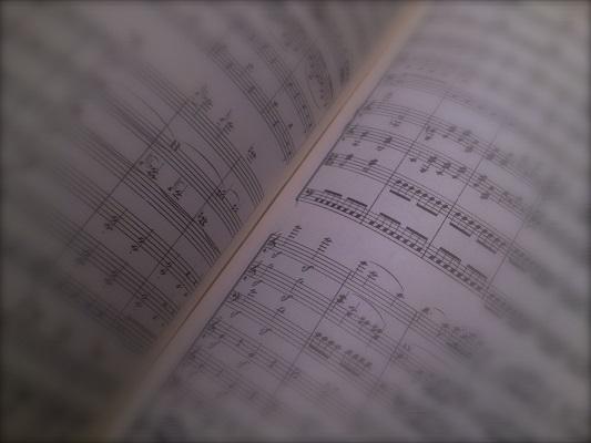 Sample of music
