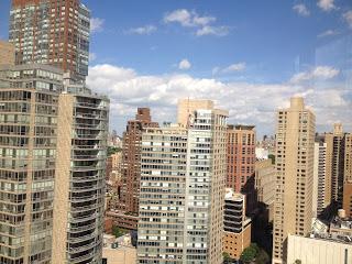 Utsikt från studenthemmet våning 26