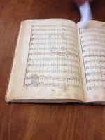 Arkivet har partituret från Beethovens symfoni nr 5 som orkestern använde vid sin första konsert 1842.