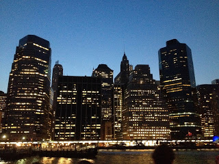 Måndagen avslutades med en båttur runt Manhattan för att fira att databasen RILM fyllde 50 år.