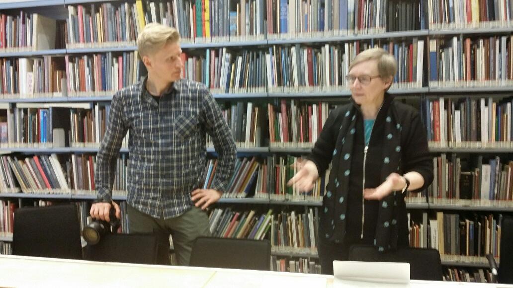Anne Ørbæk Jensen and Øyvind Harkamp