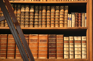 Bookshelf in the Prunksaal