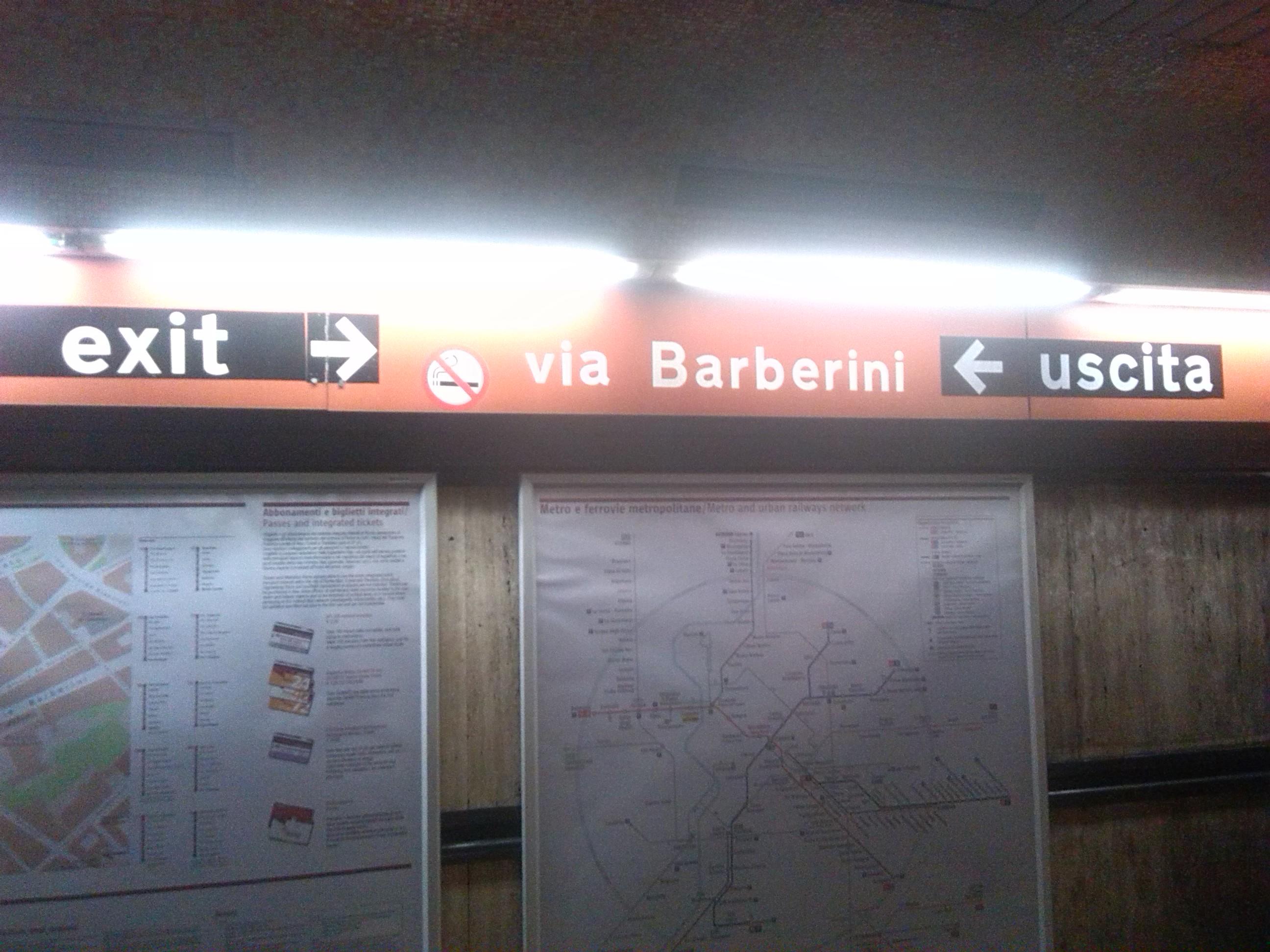 Exit in Rome