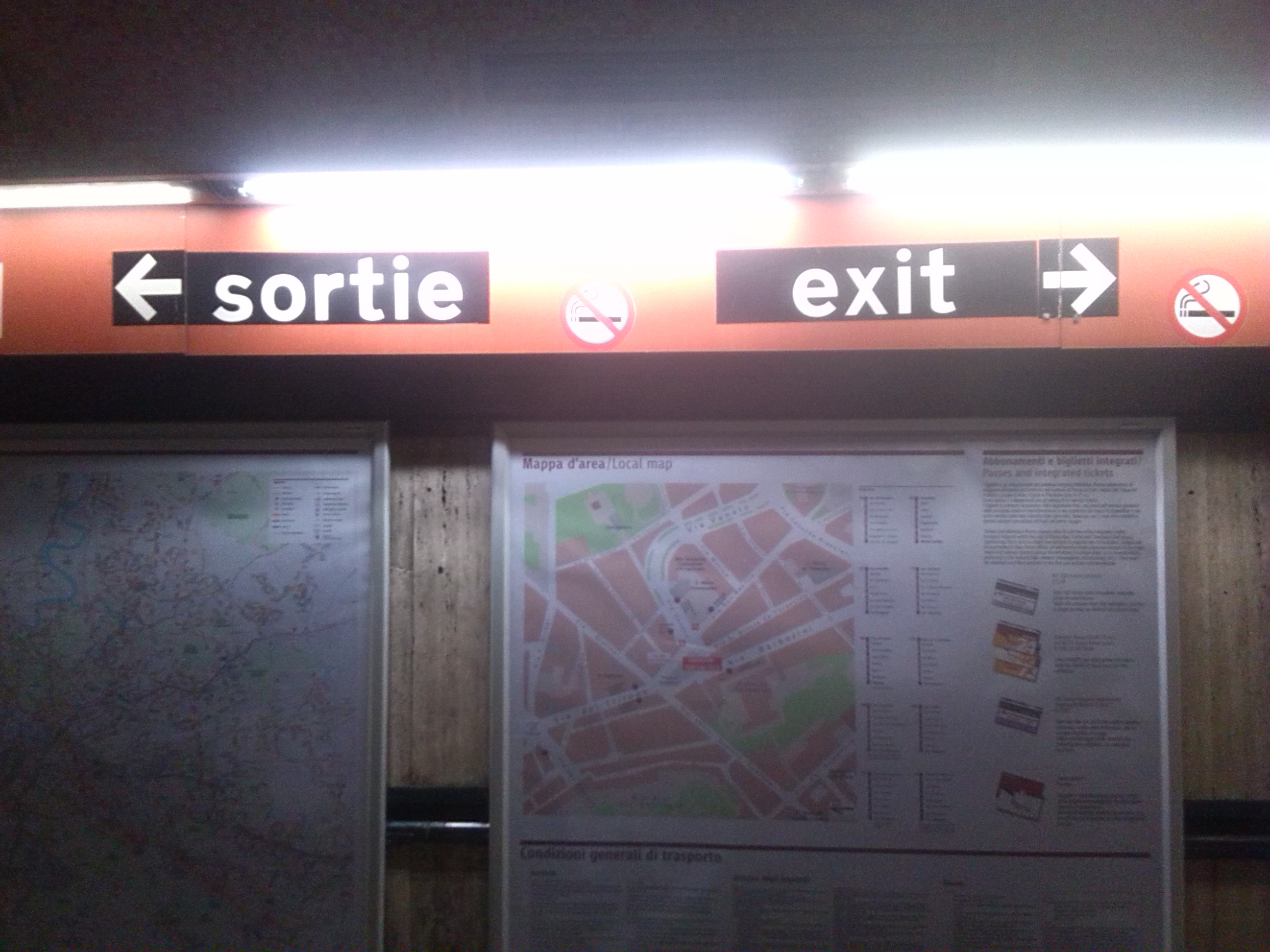 Exit in Rome, another try