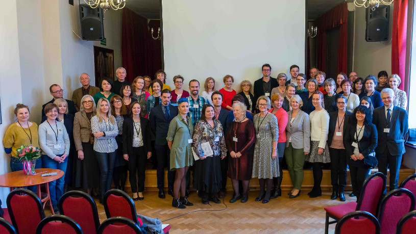 Participants of conference in Poland.
