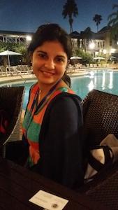 Yohana Ortega Hernandez, participant from Cuba