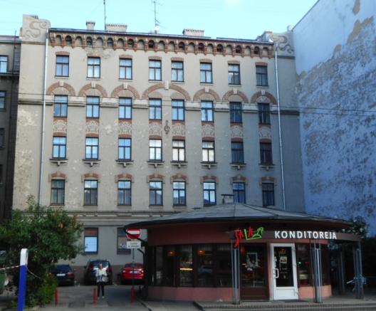 Art Nouveau in Riga (Jennifer Ward)