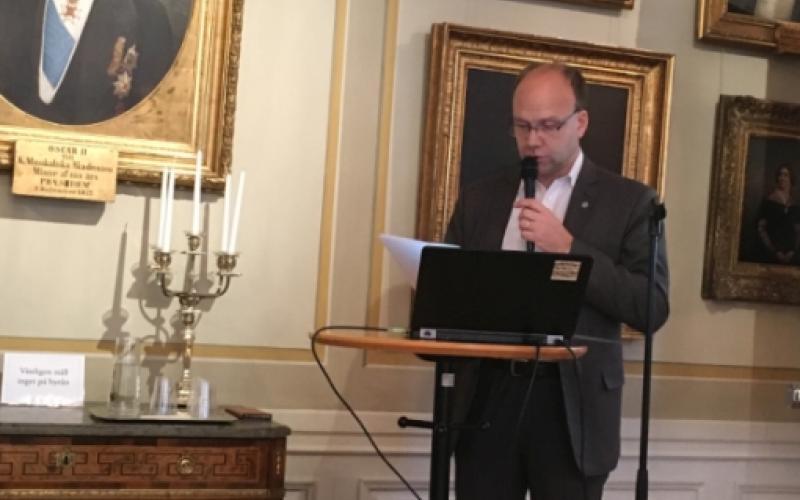 Fredrik Wetterqvist, Permanent Secretary