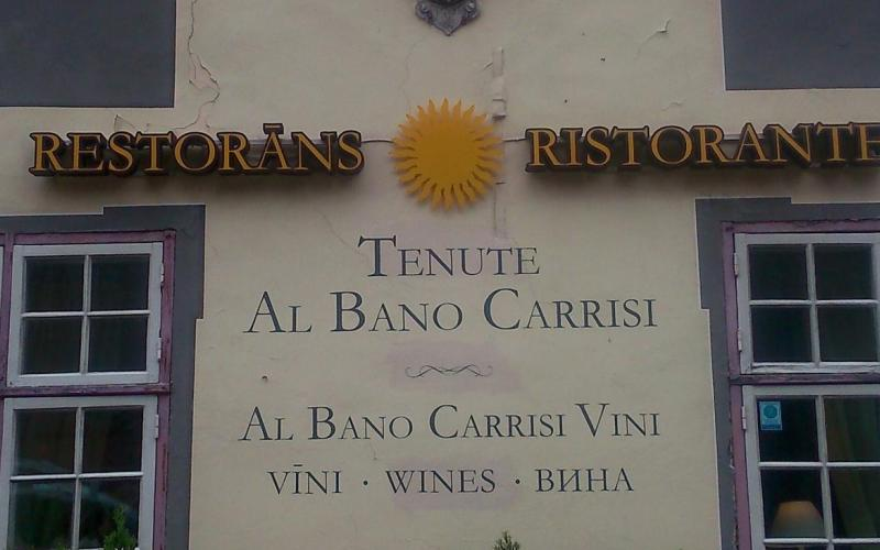 Abb. 03: Restaurant des italienischen Schlagersängers Al Bano