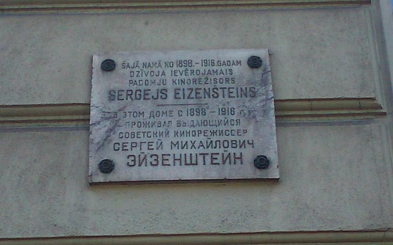 Abb. 14: Hier verbrachte der berühmte Regisseur Sergei Eisenstein seine ersten Lebensjahre