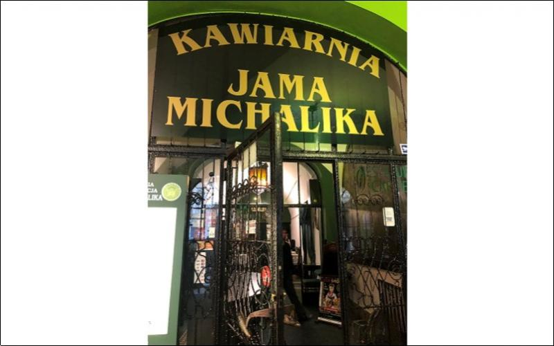 Entrance to Kawiarnia Jama Michalika