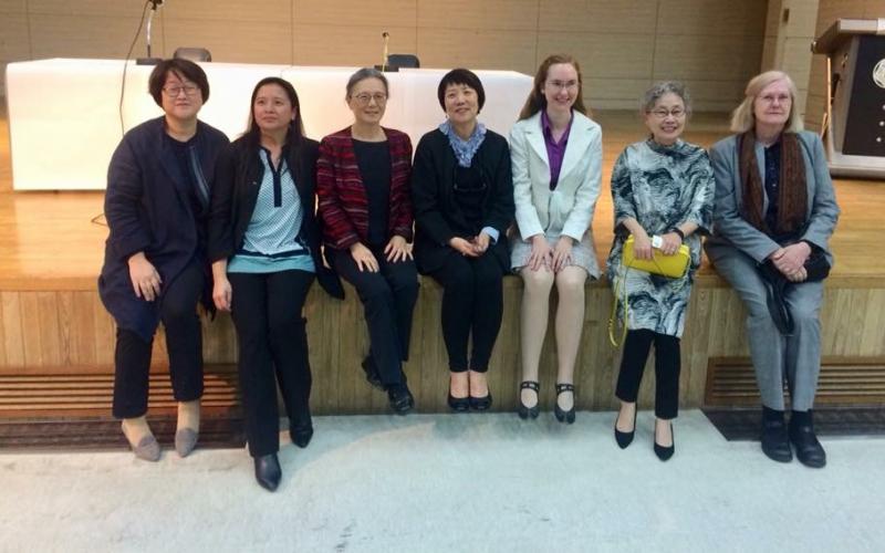 Eun-Ha Kim, Chichun Chi-sun Lee, Judy Tsou, Hyun Kyung Chae, Jennifer Ward, Hyo-shin Na, Alison Tokita