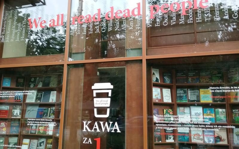 A Kraków bookstore. © Caren Nichter