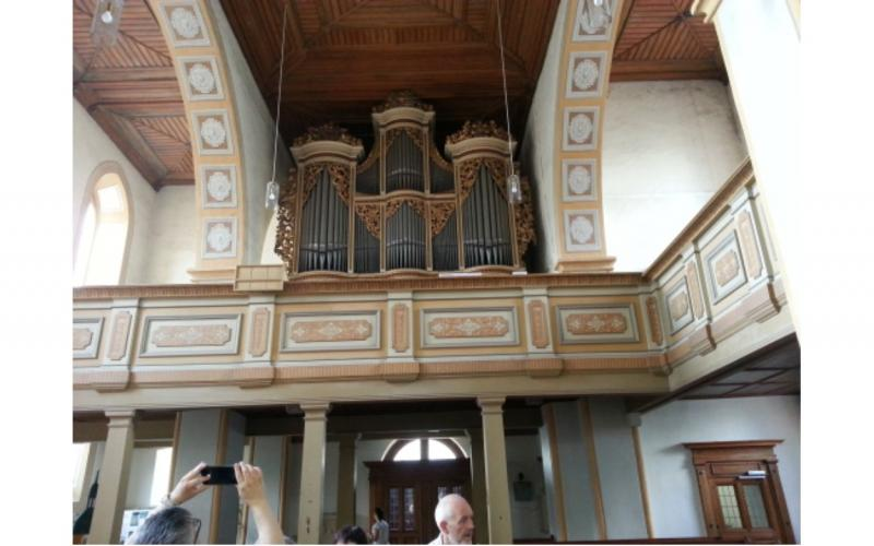 Image of Silbermann organ in Rötha church