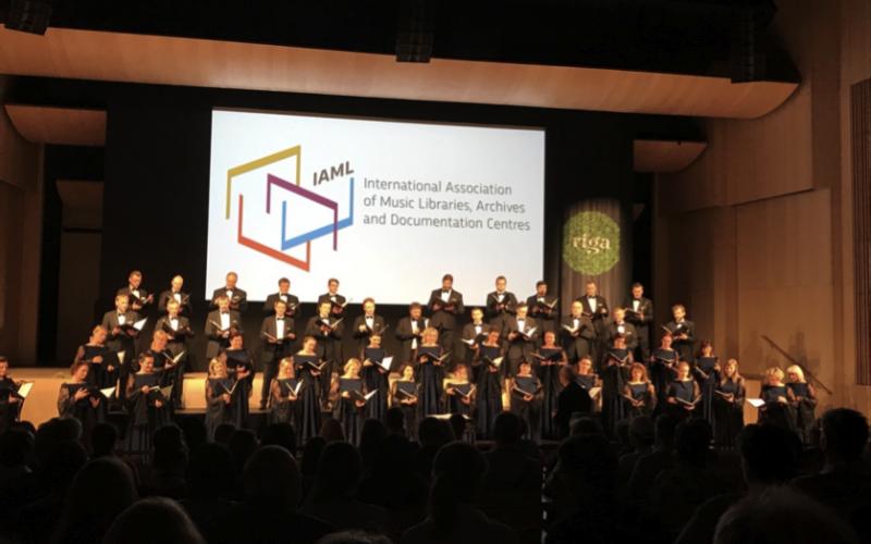 State Choir Latvia. June 19, 2017 (En af aftenerne blev der afholdt en koncert for os af Letlands Statskor i Nationalbiblioteket. Det var nok en af de smukkeste korkoncerter jeg nogensinde lyttet til med bl.a. både ny og gammel musik.
