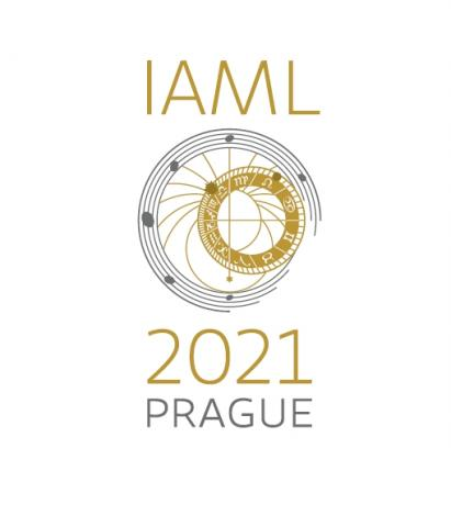 The logo for the IAML Congress in Prague 2021