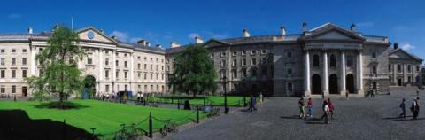 The Trinity College in Dublin